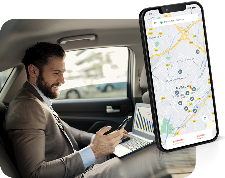 Radio Taxis Mulhouse application mobile